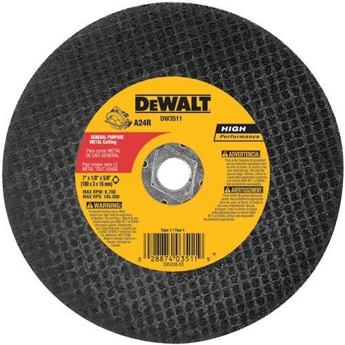 DEWALT 7-Inch Metal Cutting Blade, 5-Pack (DW3511B5)