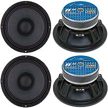 Audiopipe APMB8 8 Inch 2000 Watt Max Power 8 Ohm Low/Mid Bass Frequency Coaxial Midrange..