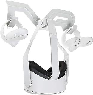 NEWZEROL muurbevestiging headset houder en controller mount station compatibel voor Oculus Quest 2/quest/rift S/Oculus Go/...
