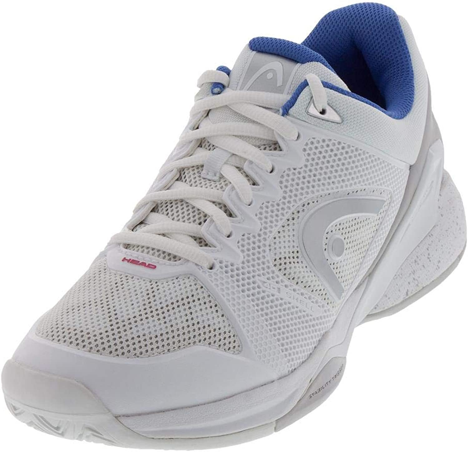 HEAD Revolt Pro 2.5 White Grey 10.0 Tennis shoes Womens
