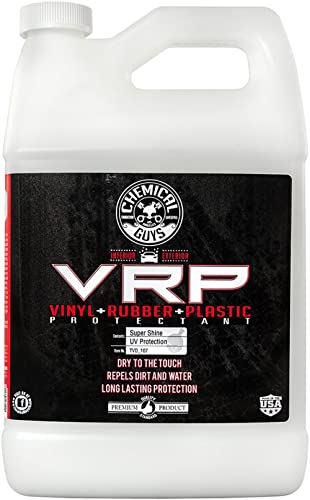 Chemical Guys TVD_107 V.R.P. Vinyl, Rubber and Plastic Non-Greasy Dry-to-the-Touch Long Lasting Super Shine Dressing ...
