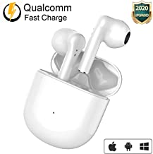 Wireless Earbuds Headphones Bluetooth 5.0 in-Ear Ear Buds True Wireless Stereo Built in Mic Noise Cancelling Charging Case...