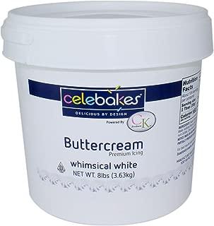 Celebakes White Buttercream Icing 8 lbs