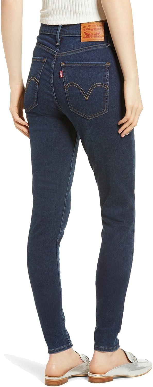 Levi's Mile High Super Skinny Jeans Femme Jet Setter.