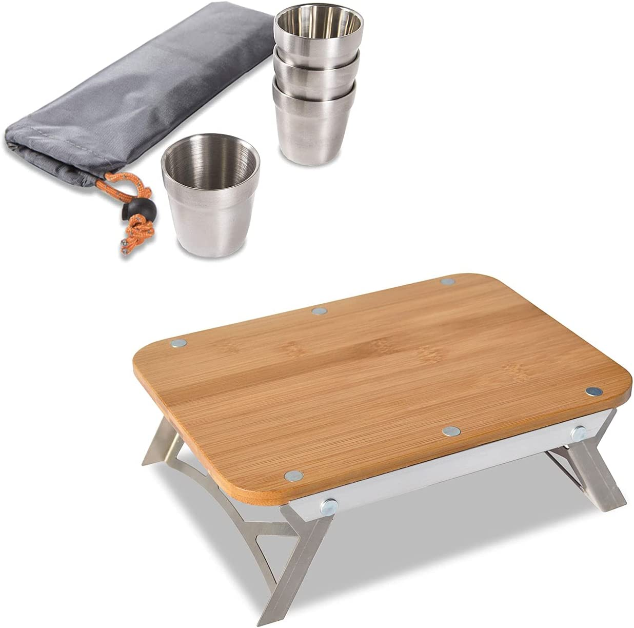 nCamp Basic 6 Oz Stainless Discount is also underway Steel Stackable P Cups Save money Set 4 Camping