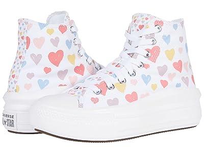 Converse Kids Chuck Taylor(r) All Star(r) Move Hi Always On Hearts (Big Kid)
