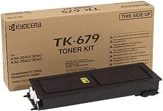 Kyocera TK-679 Genuine Black [20K Page] Toner Kit