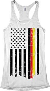 Women's Germany USA German American Flag Racerback Tank Top