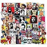 FENGLING Amazon Ebay Pop-Up Cartoon Personalized Graffiti Trolley Case Sticker Customization 50 Pcs