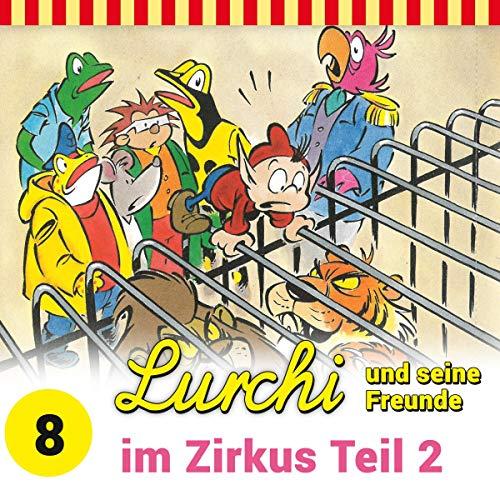 Lurchi und seine Freunde im Zirkus 2 Titelbild