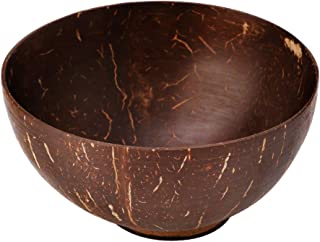 GUSENG Natural Coconut Shell Home Decoration Food Container Jewelry Storage Bowl