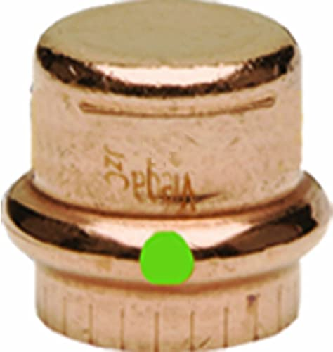new arrival Viega 77717 ProPress Zero high quality Lead Copper Cap with popular 3/4-Inch Plumbing, 10-Pack sale