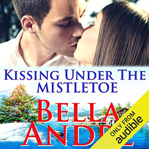 Kissing Under the Mistletoe audiobook cover art