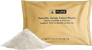 Boswellia Serrata Extract (8 oz) 100% Pure & Natural, Fine Ground, Non-GMO & Gluten-Free (½ TSP Serving)