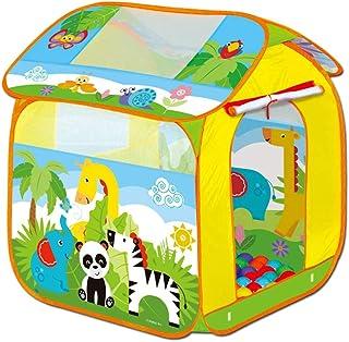 LIUFS Children's Game Fence Ocean Ball Pool Tent Hut Bobo Ball Indoor Toys Kindergarten Animal Park Ball Pool