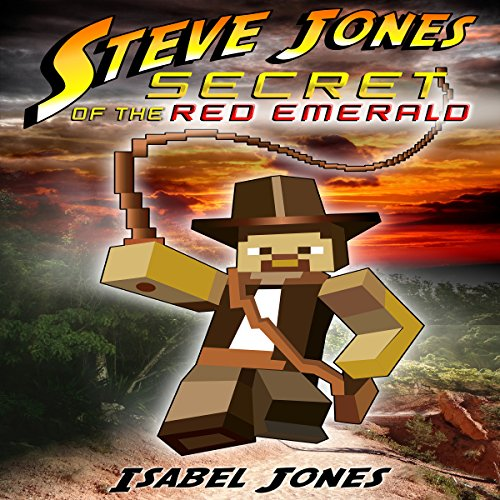 Steve Jones: Secret of the Red Emerald audiobook cover art