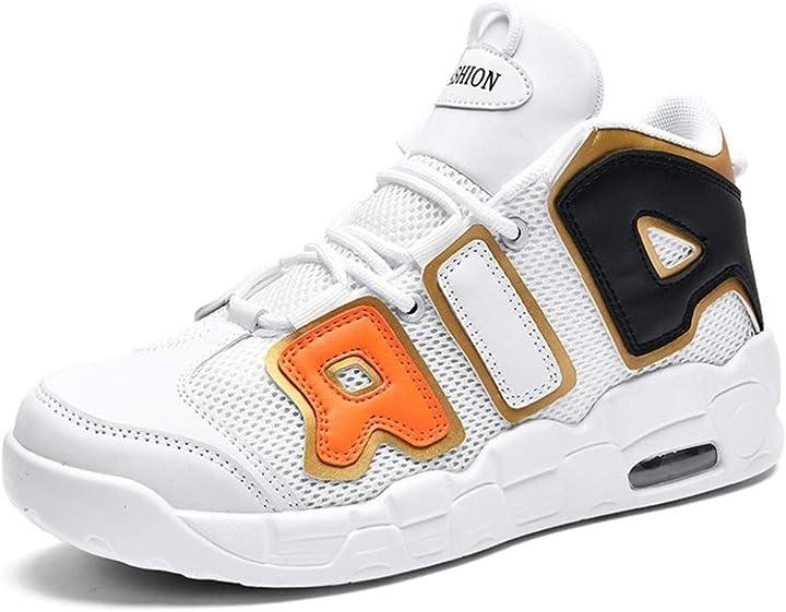 Scarpe da basket unisex scarpe da ginnastica traspiranti in mesh traspirante per esterni B08F7B97TC