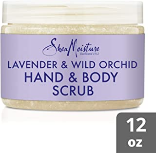 Shea Moisture Lavender And Wild Orchid Calming Hand And Body Scrub For Unisex, 354 ml