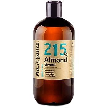 Naissance Sweet Almond Oil (no. 215) 500ml - Pure, Natural, Cruelty Free, Vegan, No GMO