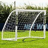 Net World Sports Forza Fußballtore - das Beste Tor bei jedem Wetter -7 Größen (Match 1,5m x 1,2m)