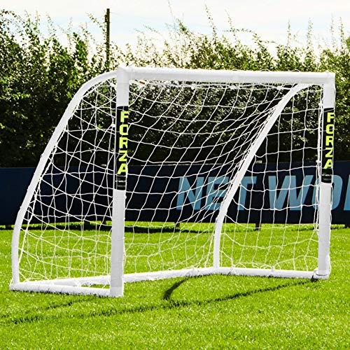 wetterfestes FORZA Match Fußballtor - 1,5 x 1,2 m, 1 Jahr Garantie [Net World Sports]