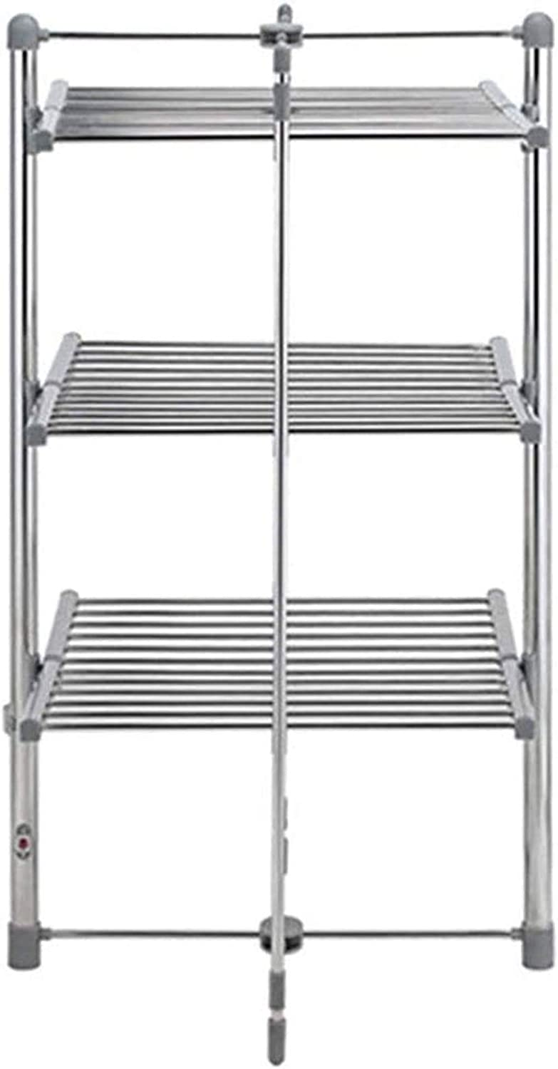 Popular shop is the lowest price challenge Heated Towel Rail Rails New sales Folding Freestanding Warmer
