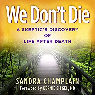 We Don't Die: A Skeptic's Discovery of Life After Death audiobook cover art