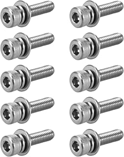 The Hillman Group 44039 10-32 x 3//4 Flat Head Socket Cap Screw 15-Pack Stainless Steel