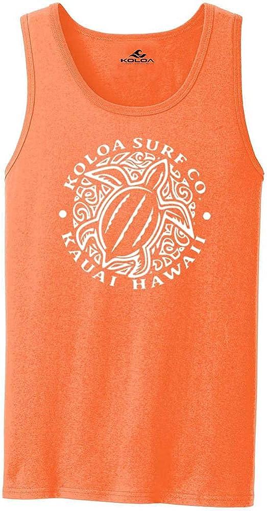 Koloa Hawaiian Honu Turtle Logo Tank 27 overseas in Tops Colors. lowest price Si Adult