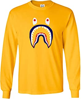 Best bape shark long sleeve tee Reviews