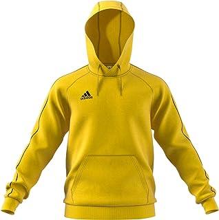 adidas Core 18 Capucha, Amarillo, L para Hombre