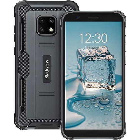 Móvil Resistente, Blackview BV4900 Pro Android 10 Rugged Smartphone 4GB+64GB MediaTek P22 Octa-Core Procesador, Batería 5580mAh y 5.7'' HD+ Pantalla, Cámara Triple 13MP, IP68/NFC/Face ID/Dual SIM