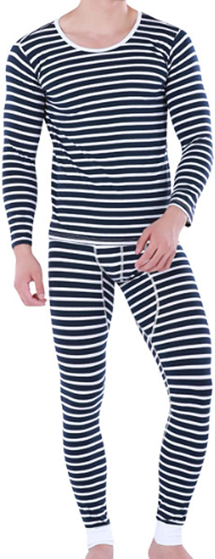 Men'S Pajamas Set For Men 2Pc Sleepwear Black L