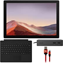 $849 » Microsoft VDV-00001 Surface Pro 7 12.3-inch Touch Intel i5-1035G4 8GB/128GB, Platinum Bundle with Microsoft Surface Dock, Surface Pro Signature Type Cover and Type-C Charge and Sync USB Cable