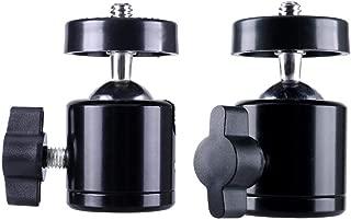 Almencla Blitzschuhadapter Gewindeadapter 1//4 Gewinde F/ür Stativ Flash Hotshoe