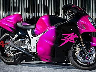 Moto Onfire ABS Injection Mold Body Kits Plastic Fairings Fit for Suzuki Hayabusa GSXR1300 1997-2007 Gen 1st Pink Black