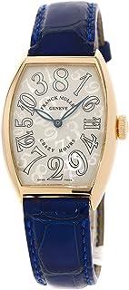 [フランクミュラー]クレイジーアワー 5850CH 腕時計 K18ピンクゴールド/革 メンズ (中古)
