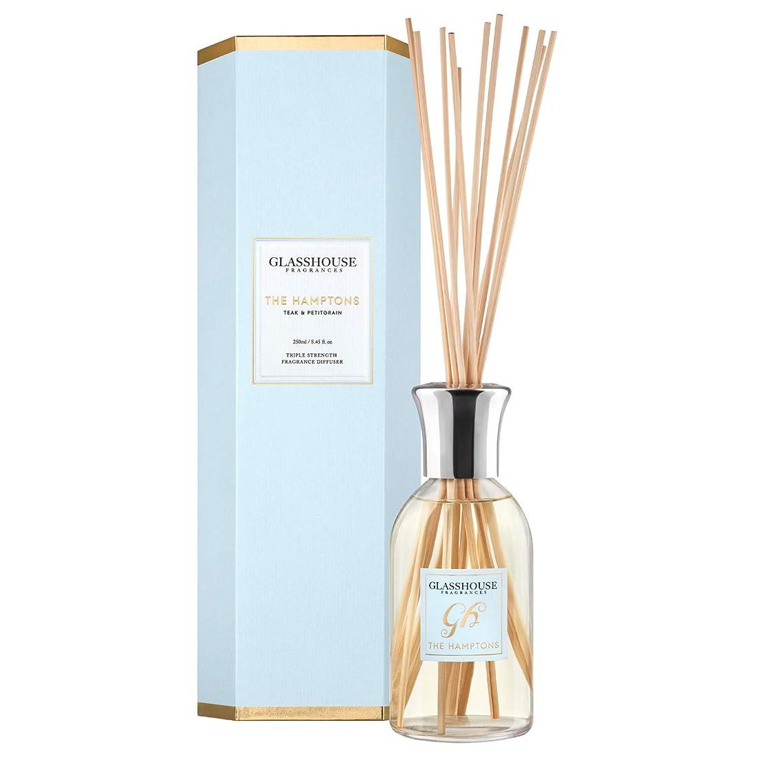 ジャーナル義務的透けるグラスハウス Triple Strength Fragrance Diffuser - The Hamptons 250ml/8.45oz並行輸入品