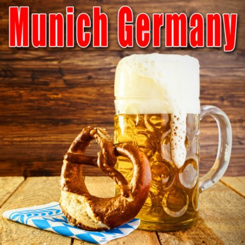 Munich, Germany, Post Office, Medium Crowd Ambience, Heavy Activity