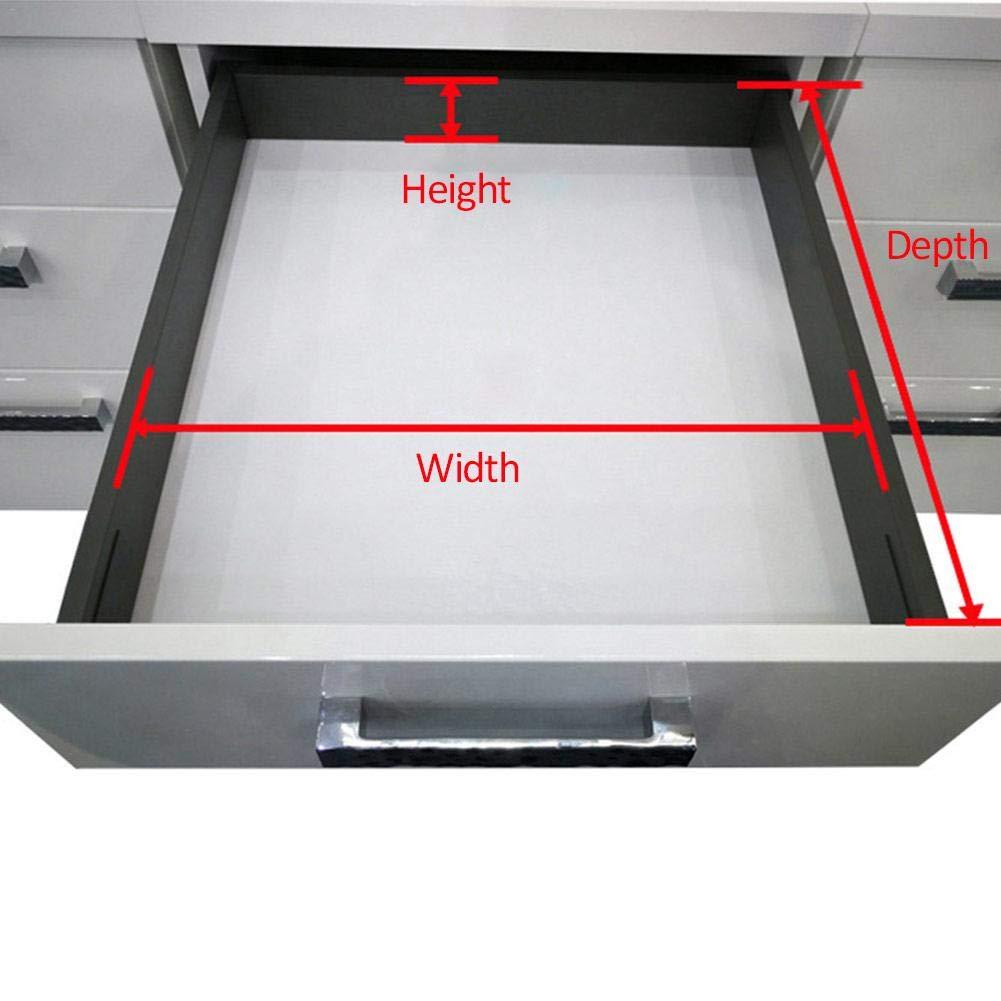 Divisores de cajón ajustables, extensibles, separadores de cajones, separadores de divisiones, Gris, 472: Amazon.es: Hogar