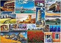 風景ジグソー-大人の子供1000ピースジグソー-クラシックジグソー-部屋の装飾有名な世界の建築ジグソー