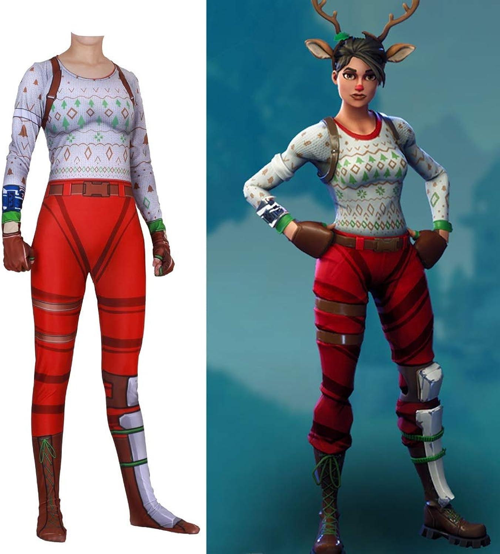 ZYFDFZ Cosplay ROTE NASENKLEIDER Kostüme Kinder Elastische Bodysuit Bodysuits Spielen Film Requisiten Spielbekleidung Cosplay Requisiten (Farbe   Rot, gre   S)
