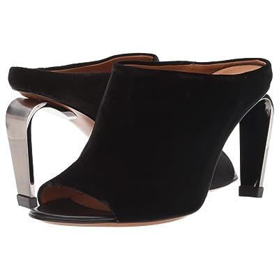 Clergerie Maevat (Black Velvet) High Heels