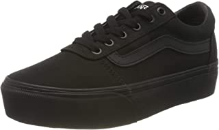 Vans Ward Platform Canvas, Sneaker Donna