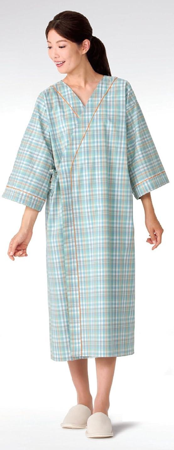 一部ほぼ力学検診衣 患者衣 カゼン(KAZEN) 288-23 患者衣ガウン サイズ:S~3L