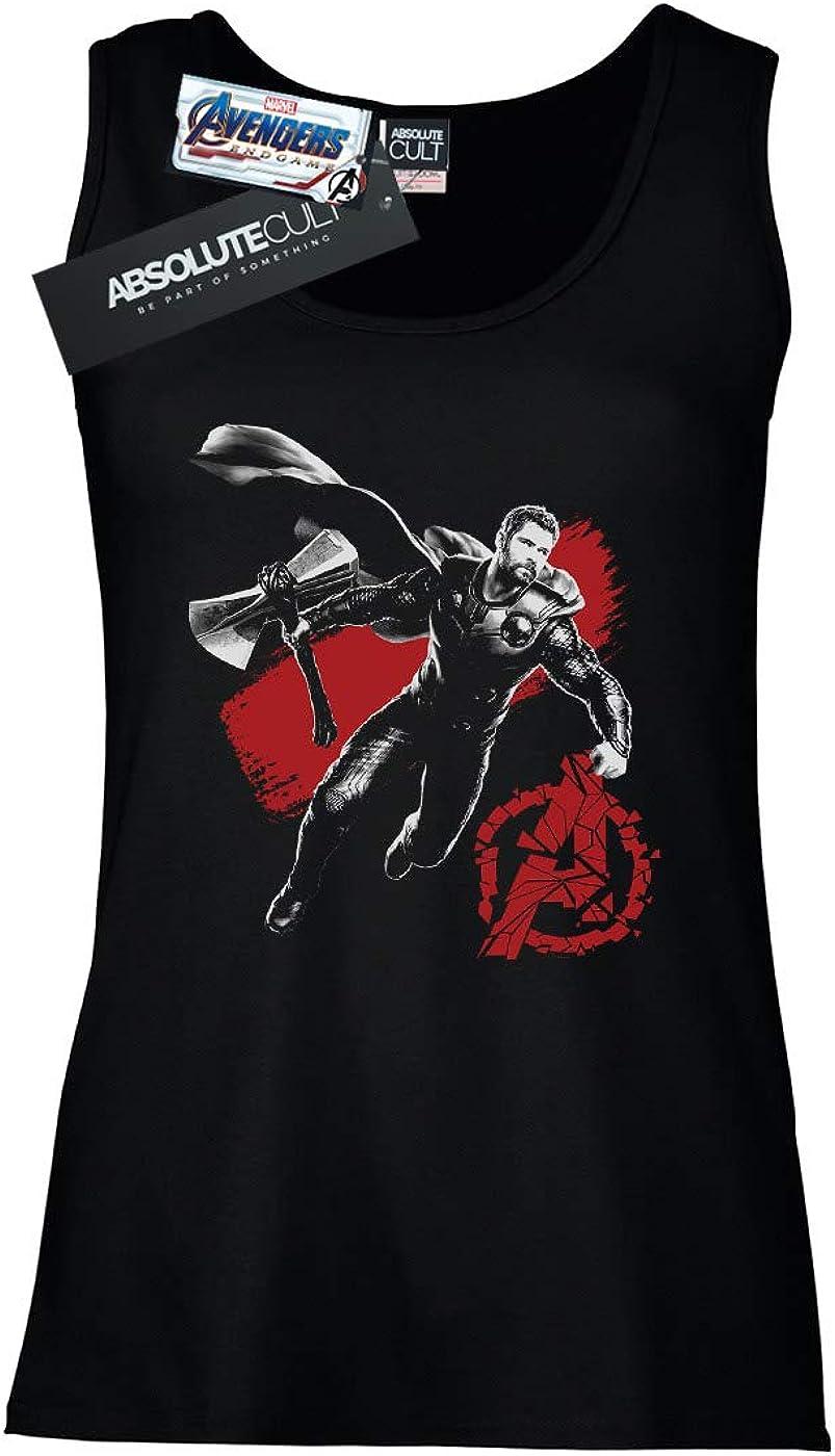 Marvel Mujer Avengers Endgame Mono Thor Camiseta Sin Mangas ...