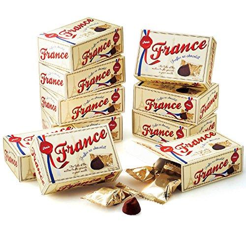フランス 土産 フランス ミニチョコトリュフ 10箱セット (海外旅行 フランス お土産)