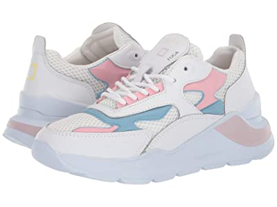 D.A.T.E. Fuga Injection (White/Pink) Women