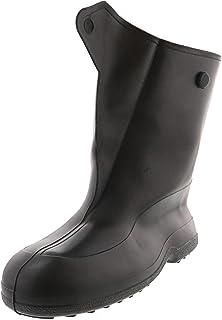 حذاء Tingley مطاطي للسيدات 25.4 سم مع زر