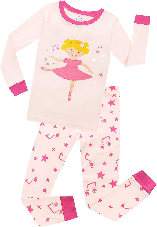 Nightwear 1 Pc Cotton Pyjamas Sleepwear Elowel Kids Baby Girls Toddler